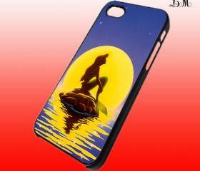 In The Moon Ariel Little Mermaid iphone 4 case iphone 5 case