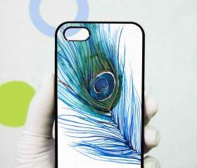 Peacock Feather iphone 4/4s case