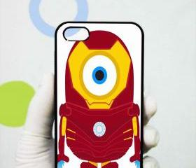 Despicable Minions Iron Man iphone 5 case