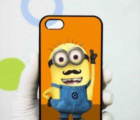 Despicable Minions Mustache iphone 5 case